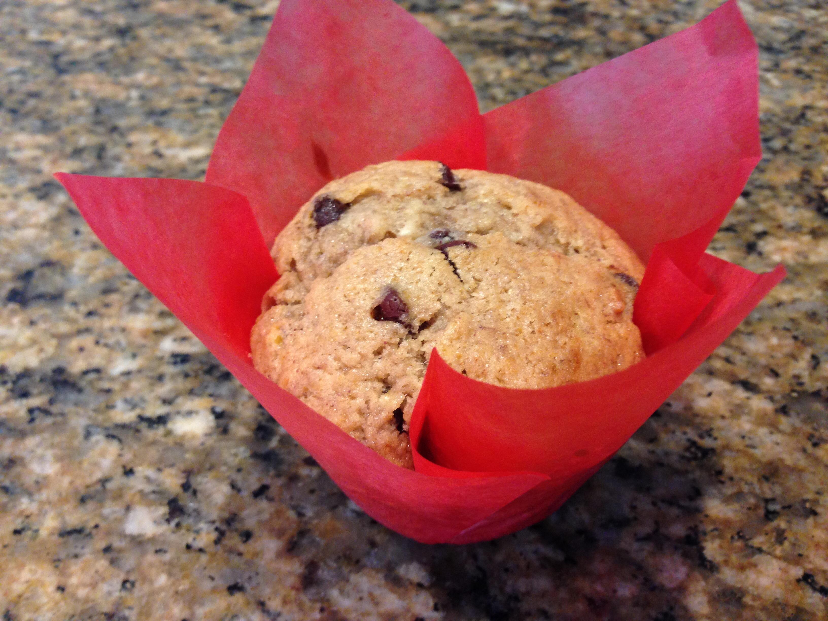 Breakfast cupcake