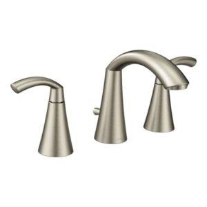 Glyde Two Handle High Arc Bathroom Faucet