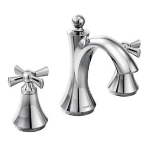Wynford Two Handle High Arc Bathroom Faucet