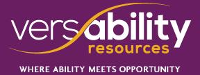 versability logo