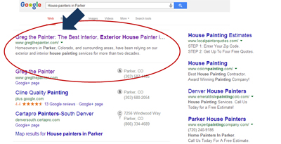 Search Engine Results Image