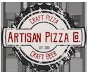 artisan pizza parker logo image