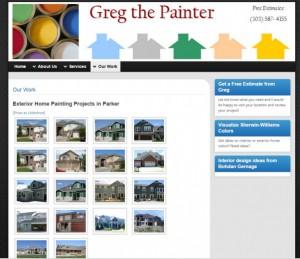 gregthepainter-website image