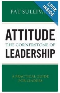Attitude - The Cornerstone of Leadership book cover image