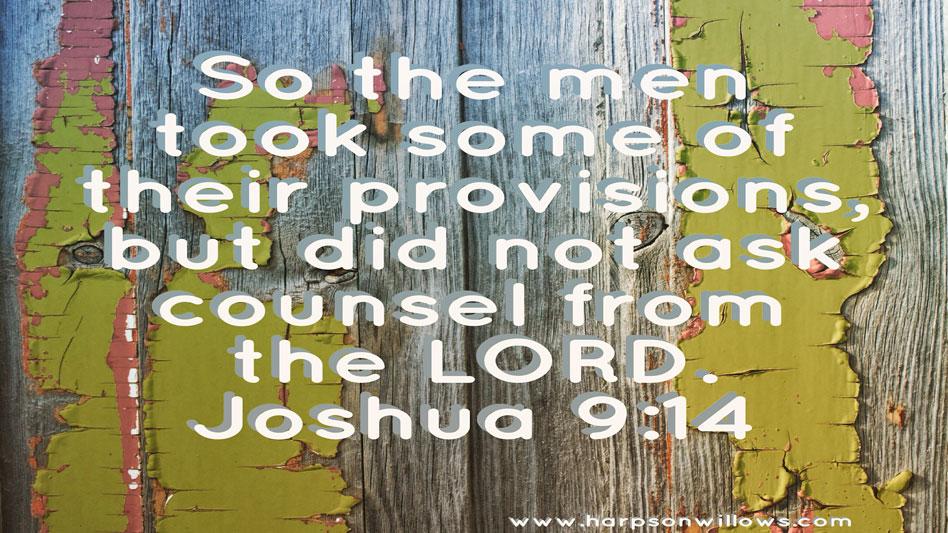Harps On Willows Joshua 9 14