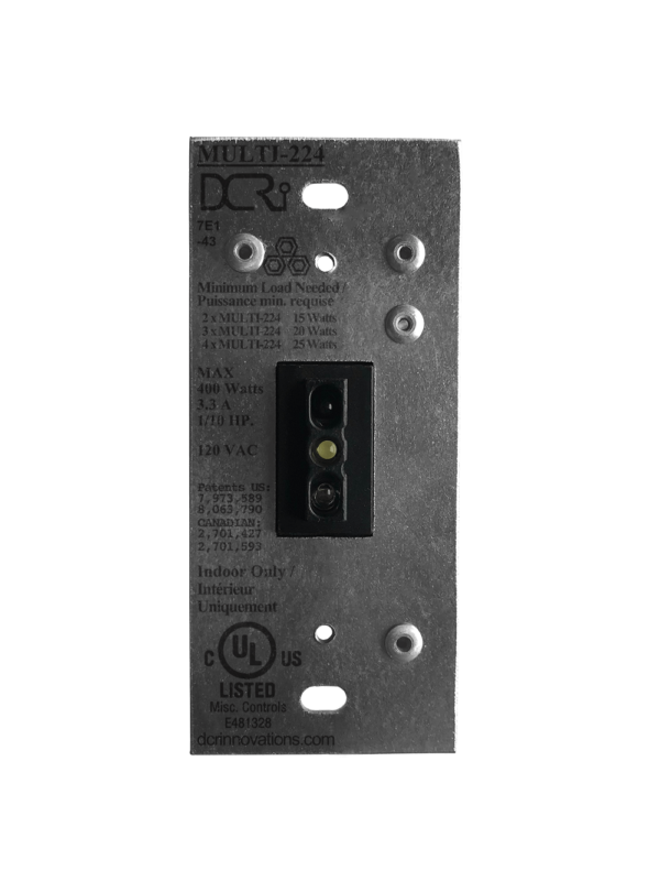 An uninstalled black MULTI-224 NT Switch