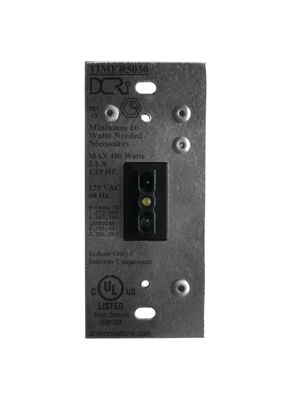 An uninstalled black TIMER5030 NT Switch