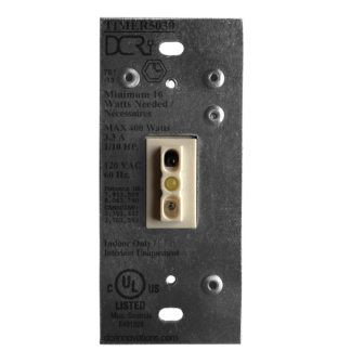 An uninstalled white TIMER5030 NT Switch
