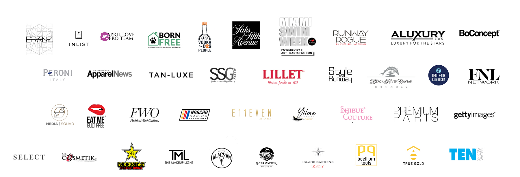 Miami Swim Week Sponsors