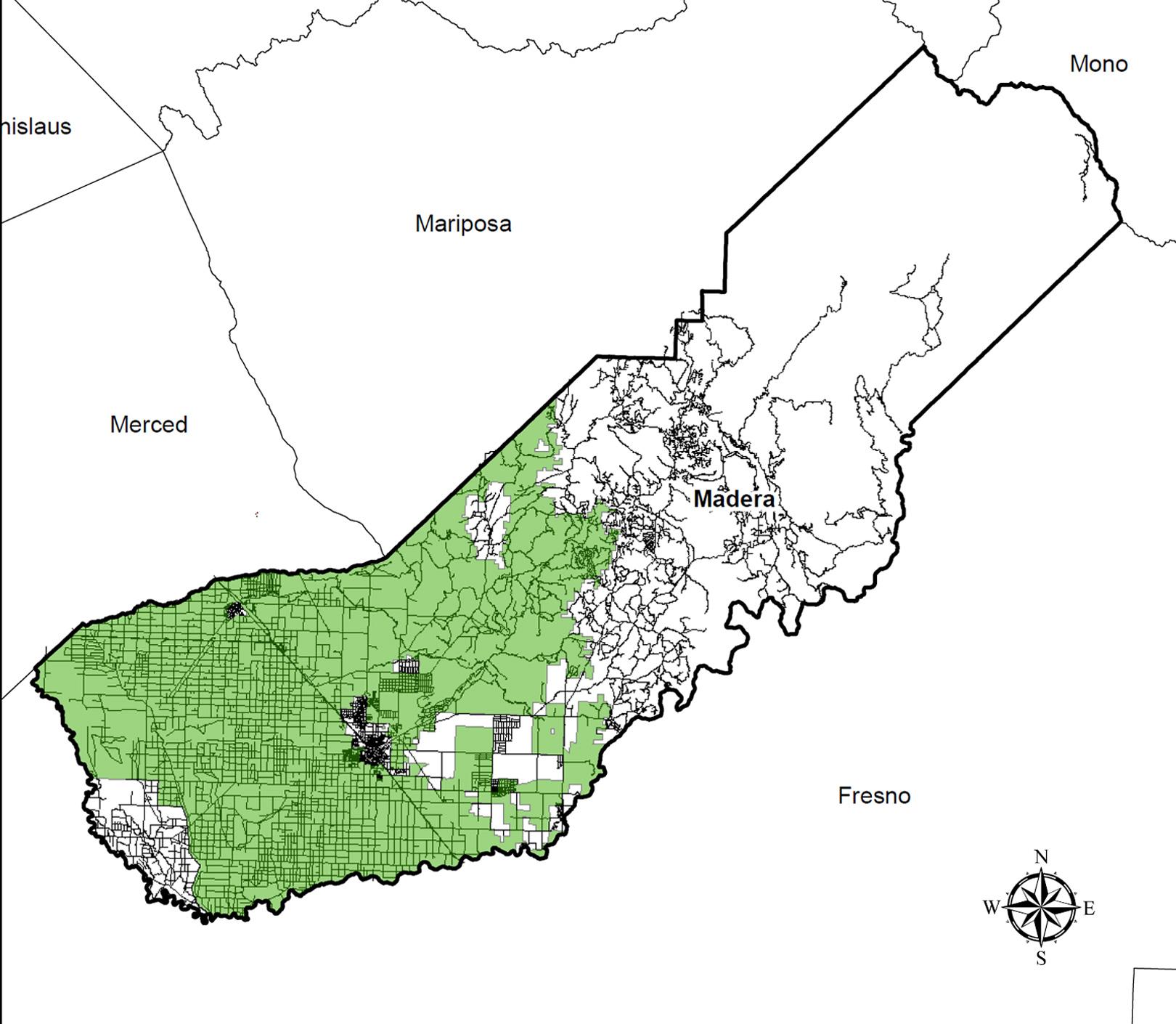 MCRCD Area Boundaries Map