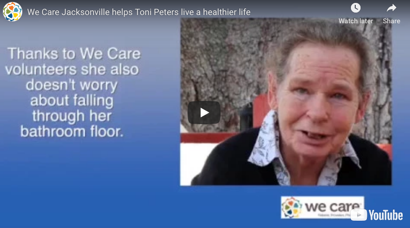 We Care Jacksonville helps Toni Peters live a healthier life