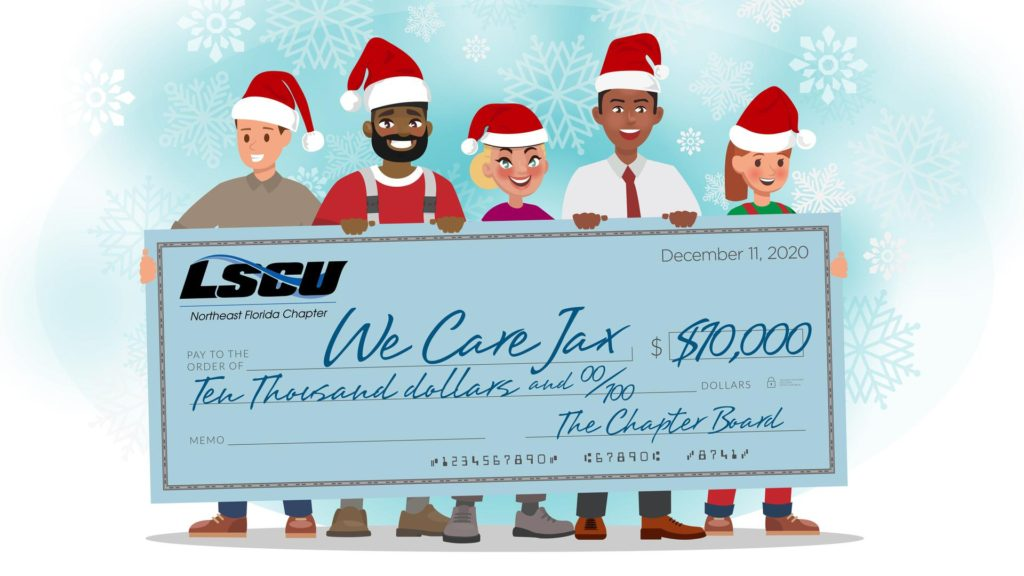 Local Credit Union Staffers Make Gift of Compassionate Care To Celebrate the 2020 Holiday Season