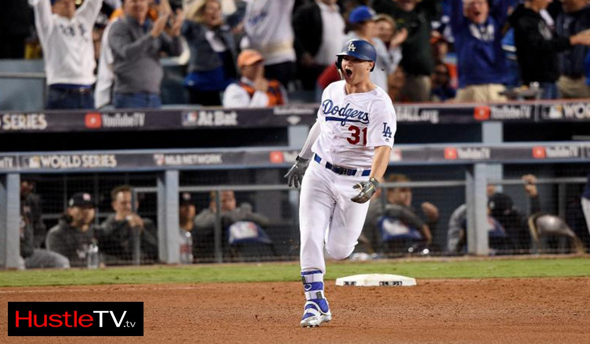 Los Angeles Dodger Joc Pederson Force World Series Game 7 www.HustleTV.tv DJ Hustle
