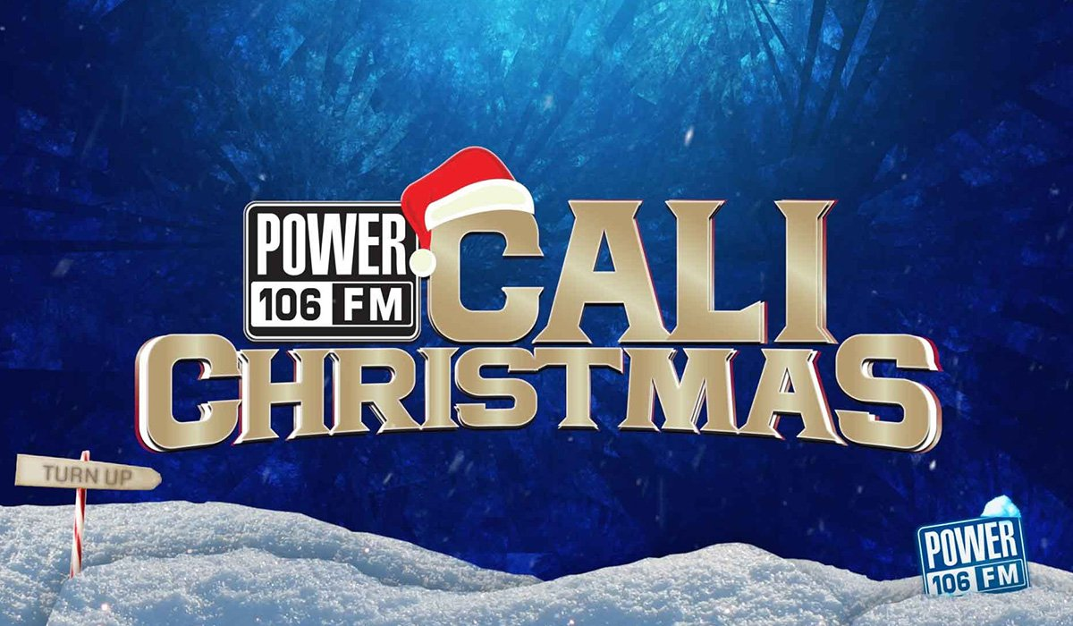 Power 106 Cali Christmas Turned Up At The Form It Was Lit www.HustleTV.tv