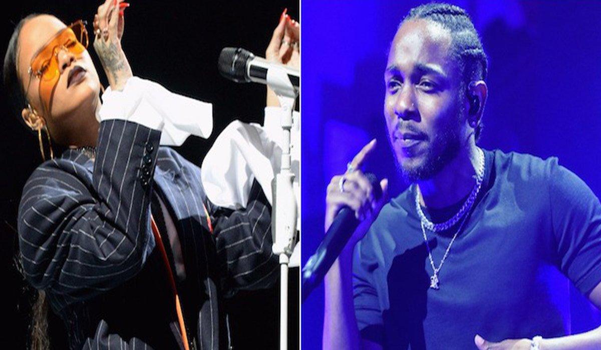 Rihanna & Kendrick Lamar Win Best Rap Song at the 2018 Grammys www.HustleTV.tv