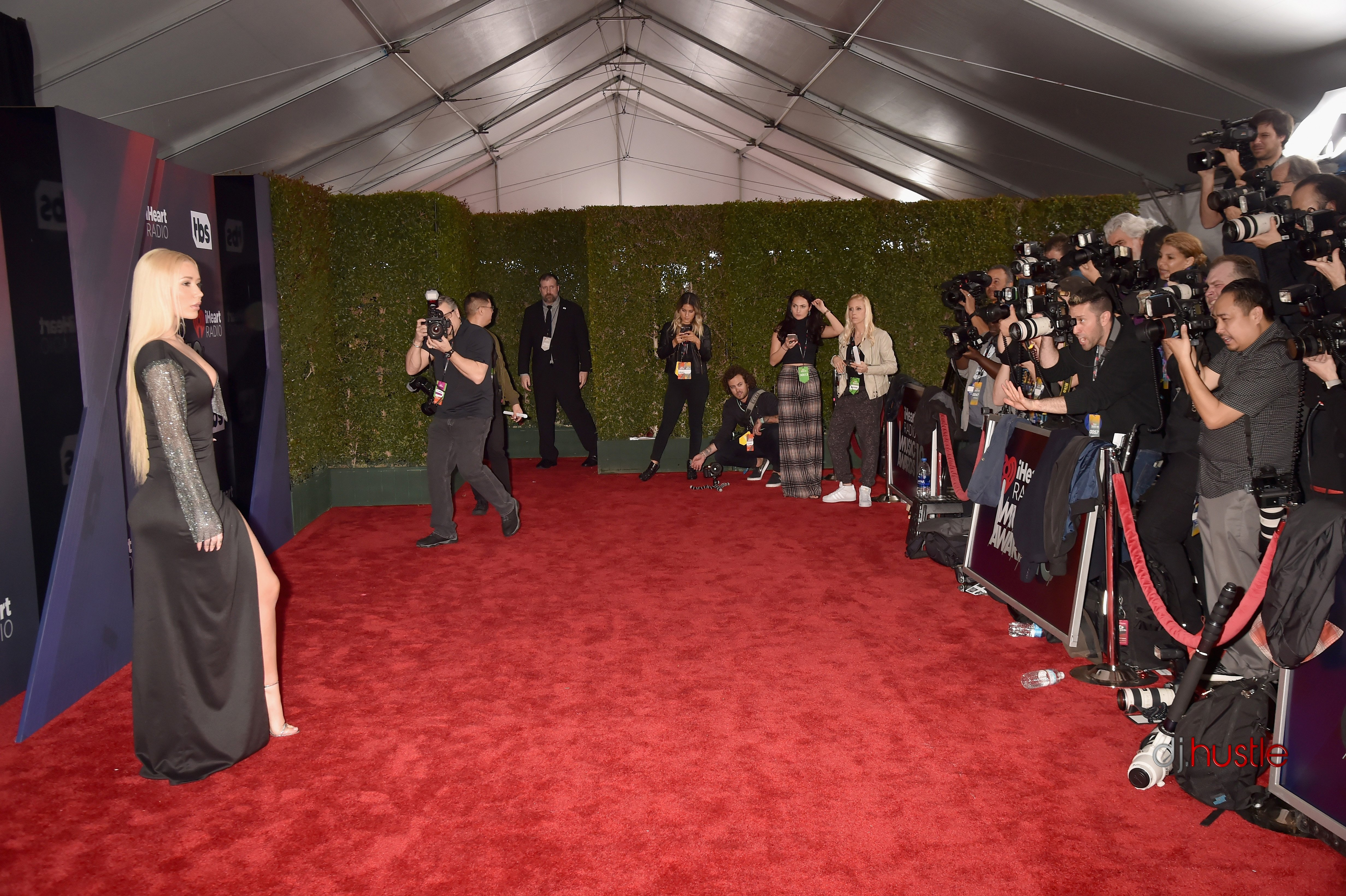 iHeartMedia Celebrates Music's Biggest Stars iHeartRadio Music Awards Media Celebrates Music's Biggest Stars iHeartRadio Music Awards Iggy Azalea arrives at the 2018(Photo by DJ Hustle iHeartMedia)