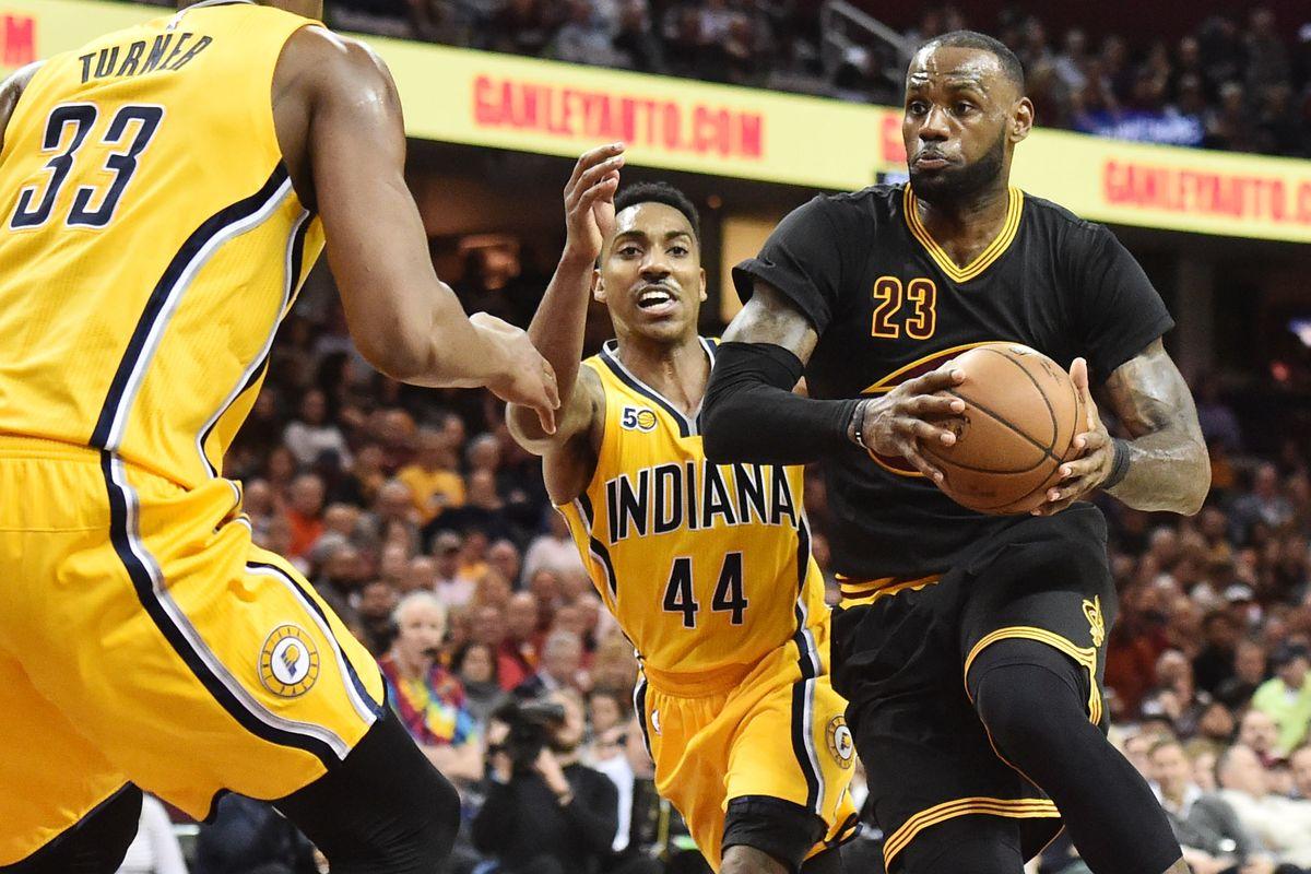 HustleTV.tv-LeBron Took Charge Cavaliers Big Win Over Pacers-Hustle-DJHustle