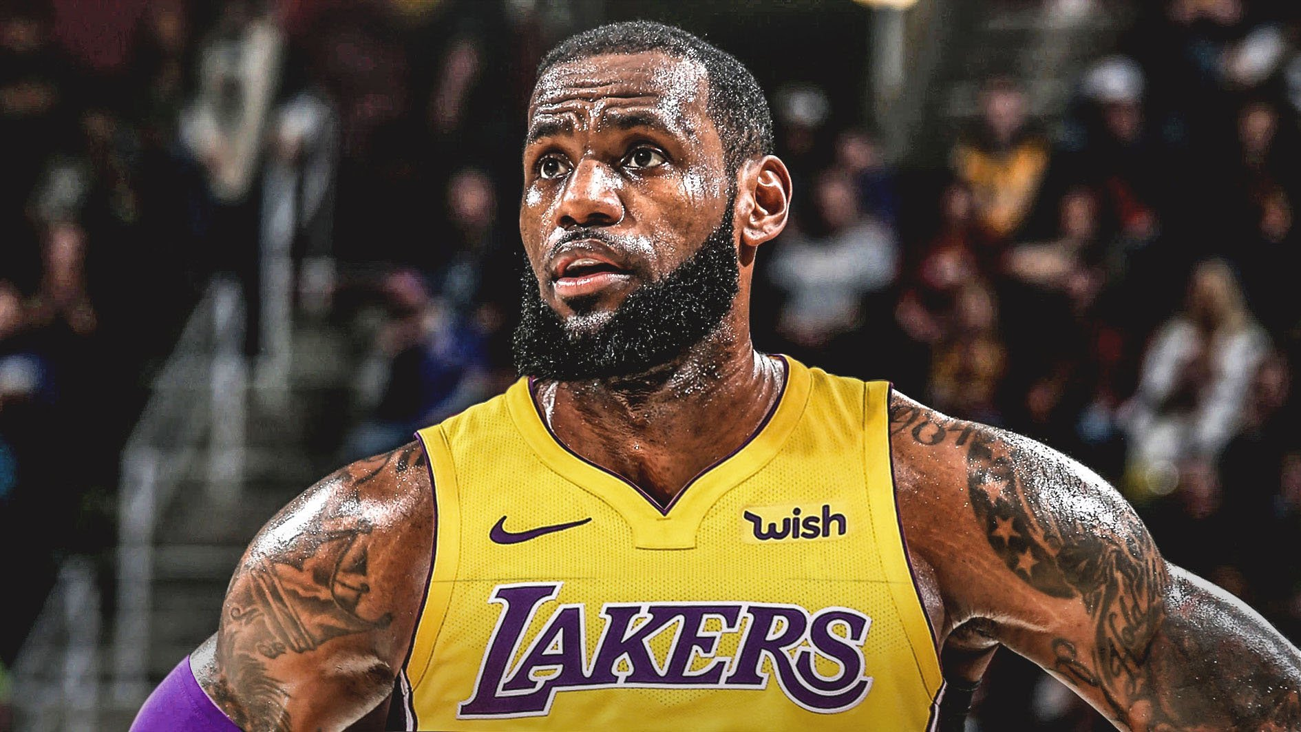 Los Angeles Lakers Ink Deal With LeBron James For A four-Year, $153.3 Million-HustleTV.tv-DJHustle