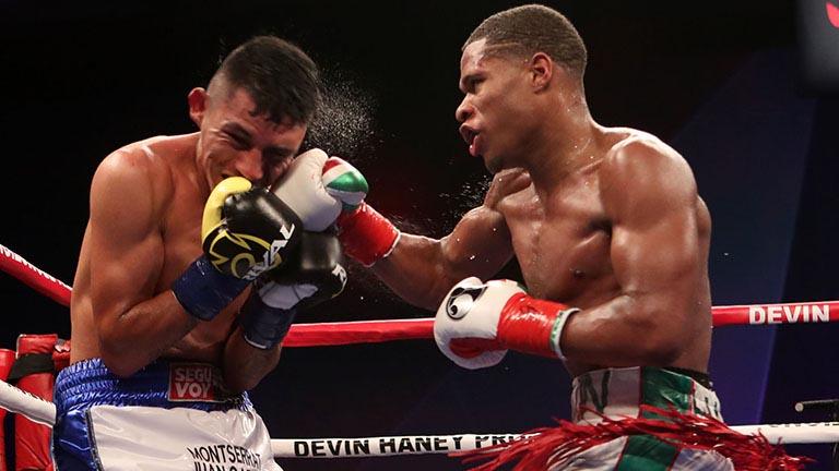 HustleTv.tv-Devin Haney Beats Juan Carlos Burgos