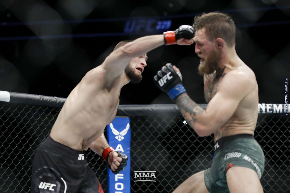 HustleTV.tv Khabib Nurmagomedov submits Conor McGregor