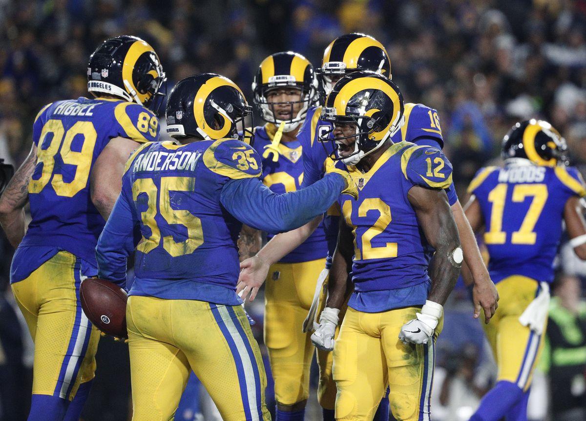 HustleTV The Los Angeles Rams Celebrates First Playoff Game DJ Hustle