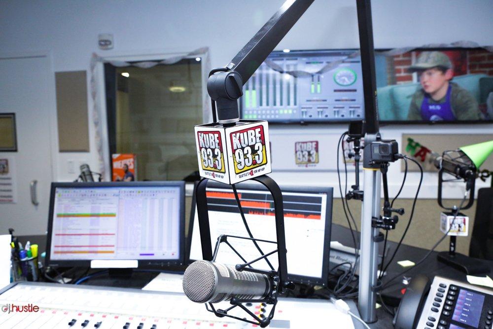 HustleTV.tv Kube 933 iHeart Radio Nay Besa Talks Next Level DJ Hustle