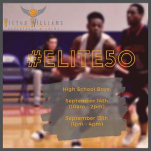 Elite 50 Camp boys