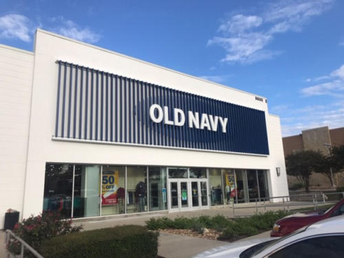 Retail Old Navy Only