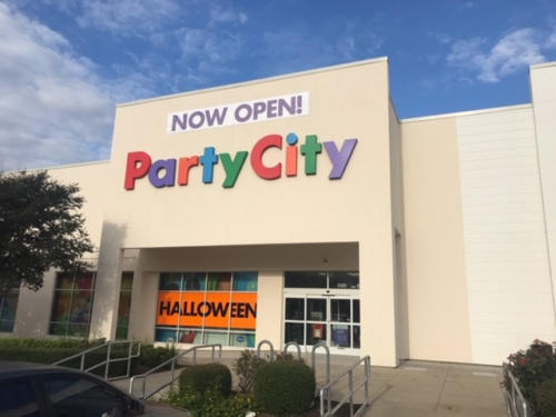 Retail Party City only
