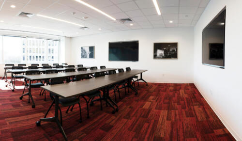 city central ft worth training room