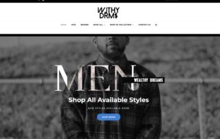 "Local clothing brand company ""Wealthy Dreams"" hires RUBI digital for e-commerce web design in Philadelphia"