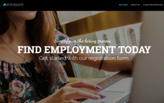Online Employment and Recruiter Company in Salt Lake City, Utah hires RUBI Digital in Philadelphia for Web Design project