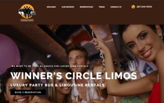 Philadelphia limousine company hires RUBI Digital for web design in Philadelphia to build website for new ridesharing company