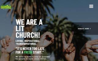 Church Ministry in Pottstown PA hires RUBI Digital Web Design in Philadelphia for new church website