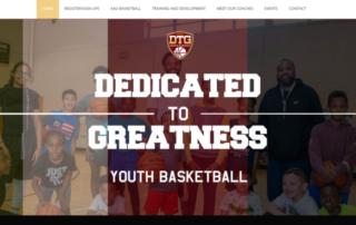 Philadelphia Basketball Coaching and Training program hires RUBI Digital for web design in Philadelphia