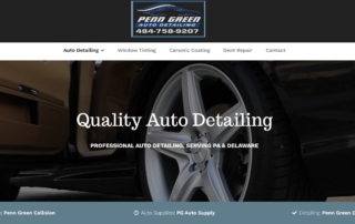 Penn Green Collision hires RUBI Digital for SEO in Avondale, PA and web design in Philadelphia