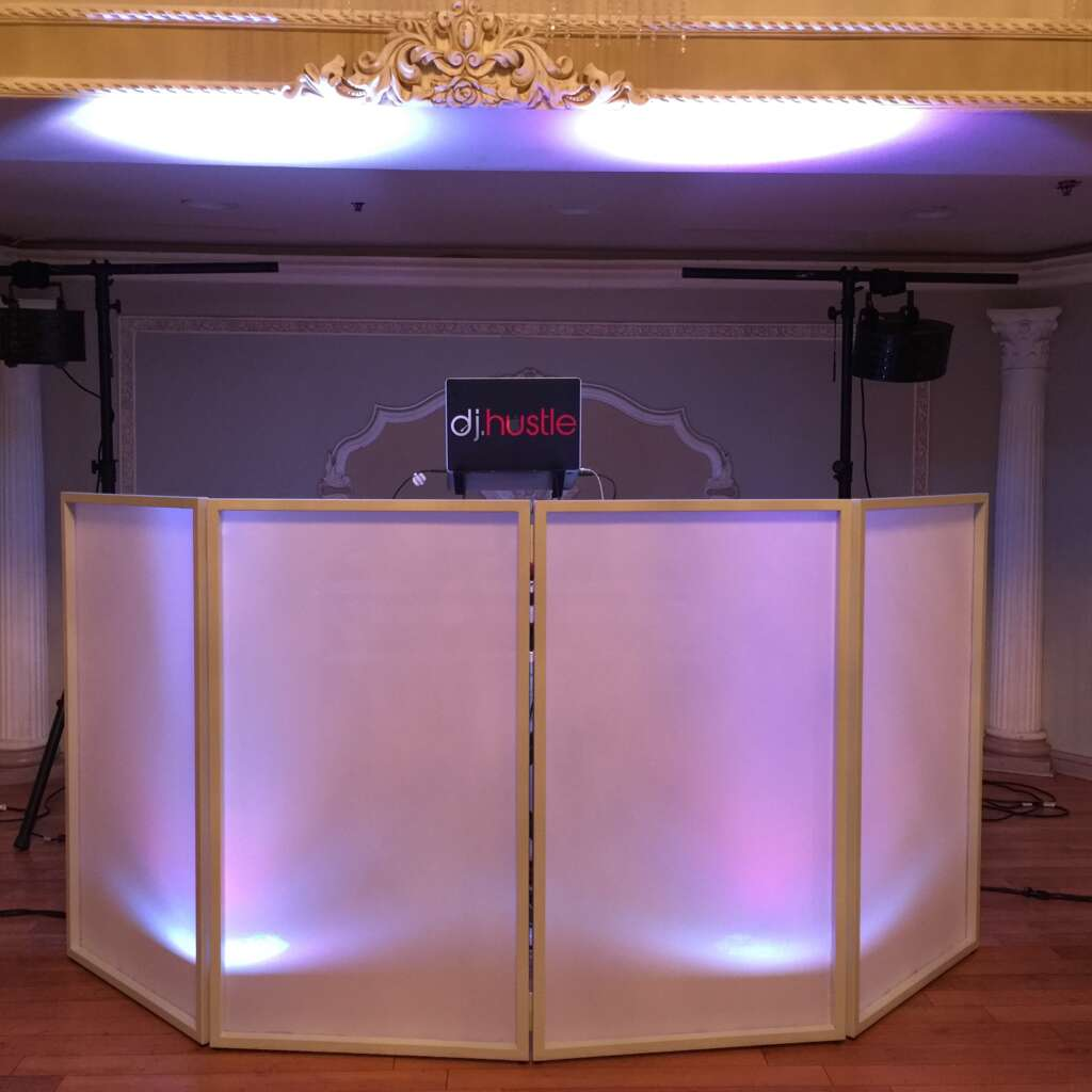 Wedding Reception DJ Hustle Events Entertainment DJ Service