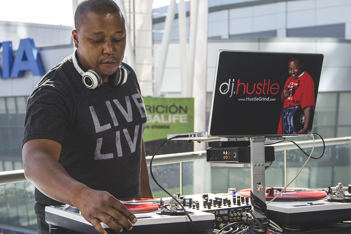 Radio DJ & On Air Personailty Hustle Events Entertainment DJ Service DJ Hustle