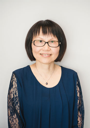 an image of office manager agnes