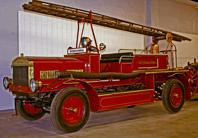 Merryweather Fire Engine. English. Ca. 1913. Braidwood body style fire engine. Ex – Lima, Peru