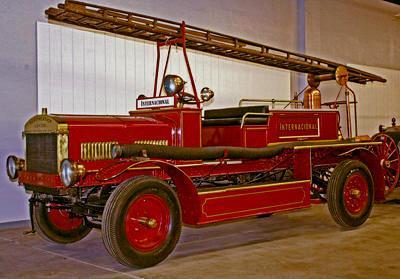 Merryweather Fire Engine. English. Ca. 1913. Braidwood body style fire engine. Ex – Lima, Peru