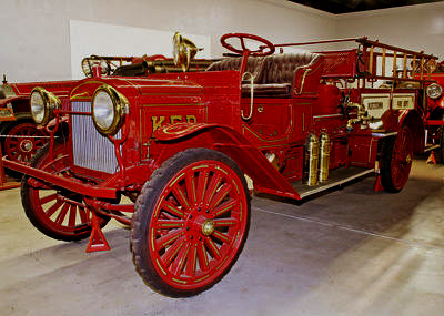Brockway Chemical and Hose Truck. 1915. Ex – Kutztown, PA