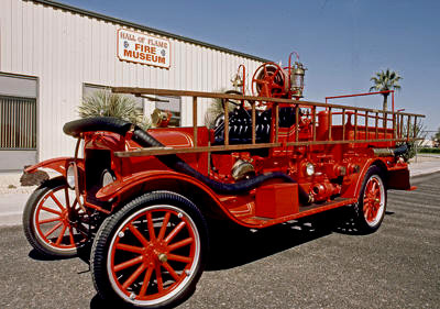 Model T fire engine. Ex – Germantown, IL.