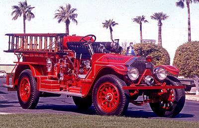 American La France Type 12 Fire Engine. 1924 Triple comb.  Ex – Oshkosh, WI.