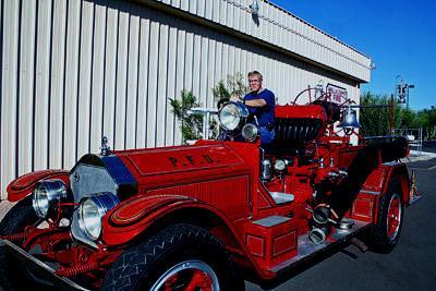 Triple Combination Fire Engine. Ex- Pullman, WA FD.