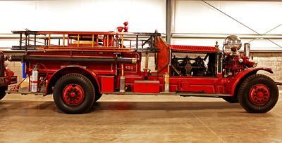 Model J fire engine. Ex – Detroit, MI.