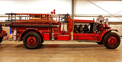 Model J fire engine. Ex – Detroit, MI.