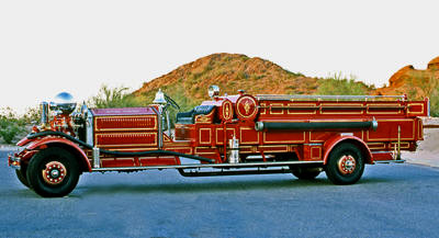 Quad fire engine ex – River Forest, IL.