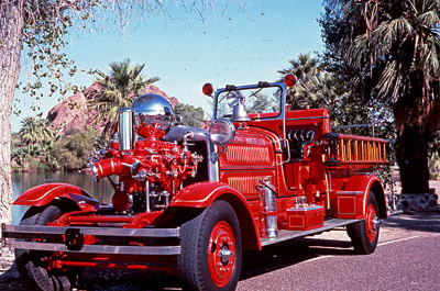 Model N fire engine. Ex – North Tarrytown, NY.