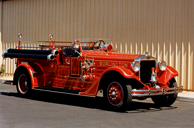 Type 400 Senior fire engine used in Burlington, IA